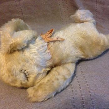 Steiff Floppy Hansi Rabbit, 11 inches  - Dolls