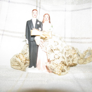 Wedding Cake Figurine 1960