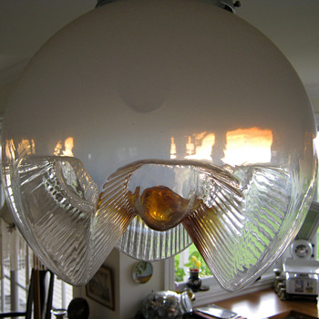 MURANO GLASS SHADE - Mid Century Modern