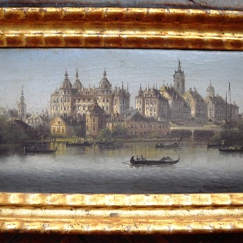 Landscape by Johann Wilhelm Jankowski  - Visual Art