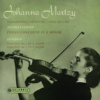 Columbia 33CX1497 - Mendelssohn - Violin Concerto - Johanna Martzy
