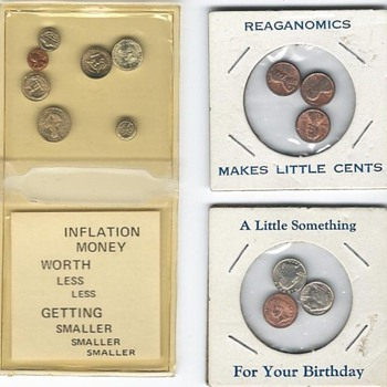 Miniature coins and oddities