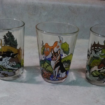 FRENCH JUICE GLASSES