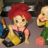Vintage teen figurines