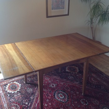 Mid century extending dining  table - Furniture