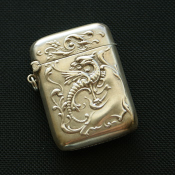 Silver Vesta Case Dragon
