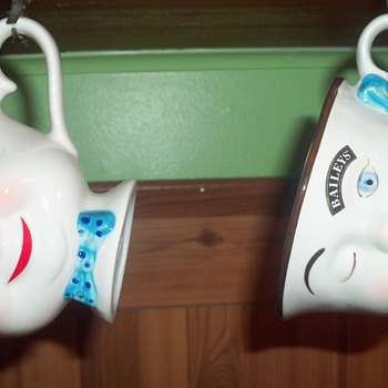 2 Baileys Coffee Mugs/Tea Cups - Advertising