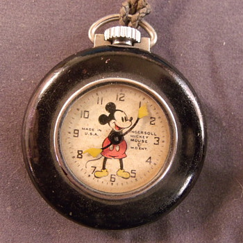 "Mickey Mouse ""Lapel"" Pocket Watch - Pocket Watches"
