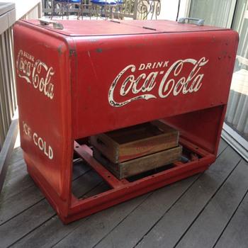 1938 Coca-Cola Cooler - Coca-Cola