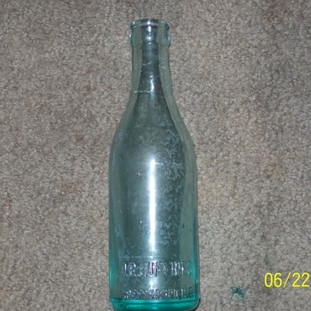D.R. Huffines Bottle from Greensboro N.C.