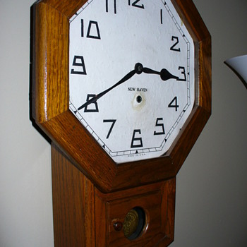 My New Haven Schoolhouse Clock