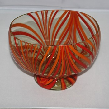 My New Candy Dish - Art Glass