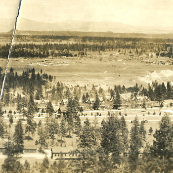 Fort George Wright, near Spokane, WA. 1920s