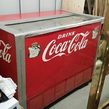 1956 Coca Cola Deep Freeze? Need advice / How to confirm year. All original and working.