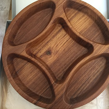 Lovely wooden Dansk tray