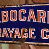 J. B. Bogarde Drayage Co. Porcelain Enamel Sign