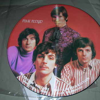 pink floyd interview picture disc limited edition - Records
