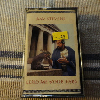 Ray Stevens Lend Me Your Ears Cassett - Records