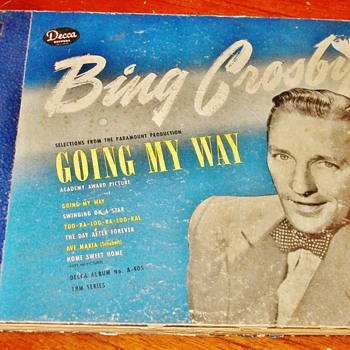 """Going My Way"" by Bing Crosby - Records"
