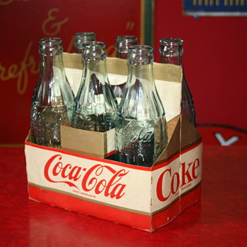 coca cola six pack