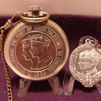 Completed Project...1939 Westclox King George  & Queen Elizabeth - Pocket Watches