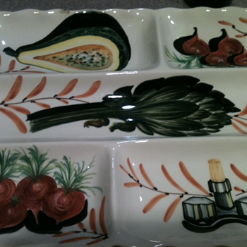 Italian made platter - Art Pottery