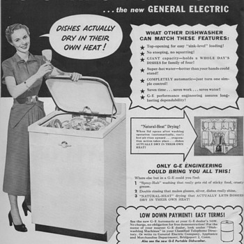 1950 General Electric Advertisements - Advertising