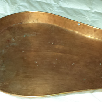 10 pound huge copper scale pan or scoop? - What is this?