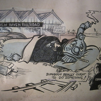 1 of a kind DRAPER HILL cartoon (famous political cartoonist) - Posters and Prints