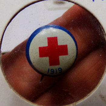 1919 Red Cross Pin