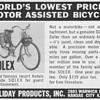1952 - Solex Motor-Bicycle Advertisement