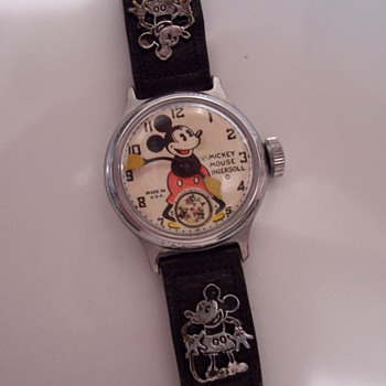 1930's Mickey Mouse Watch