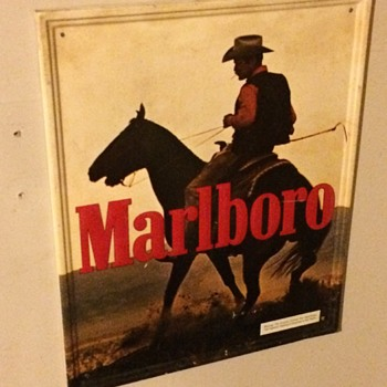 Marlboro Man Metal Sign - Signs