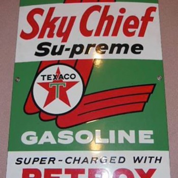1959 Texaco Sky Chief - Petroliana