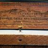James Cremer c 1860's framed mirror Philadelphia Stereoscope maker w/tag