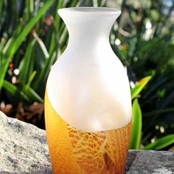 Tsukiyono by Kurata vase - Art Glass