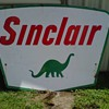 Porcelain Sinclair Sign