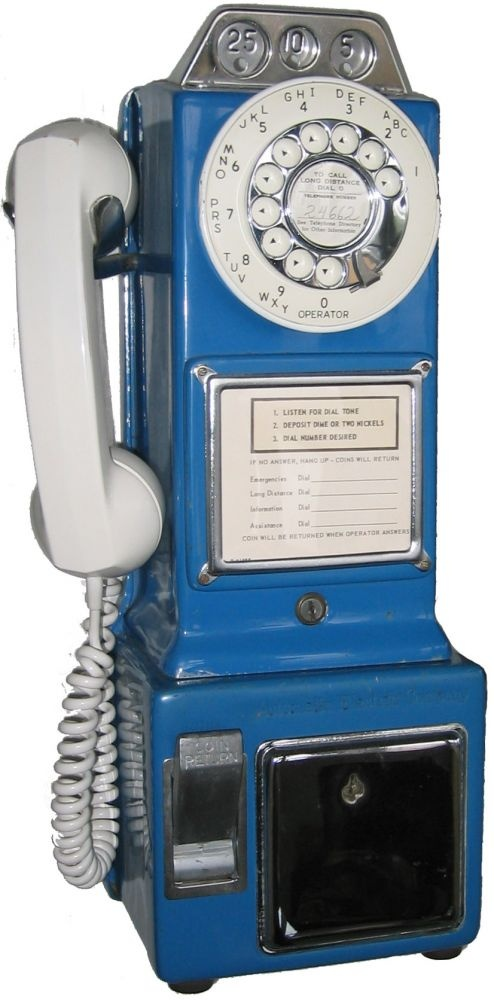 automatic electric 3 slot payphone parts & accessories