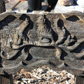 Carved Wood Furniture for outdoors - what can i do to preserve them?