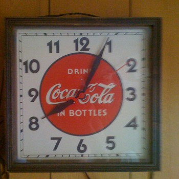 Vintage Coca-Cola clock - Clocks