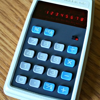 APF Mark 40 Electronic Calculator