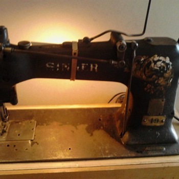Antique Singer - Sewing