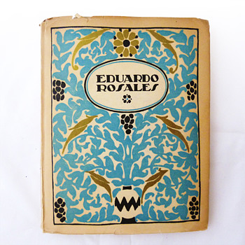 Art books collection, unknown designer (Spain, 1919)