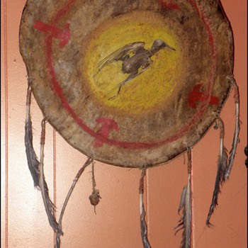 Native American Medicine Shield - Native American