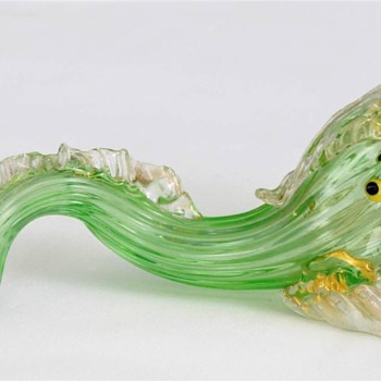 Murano Glass Dolphin - Art Glass