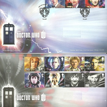 DOCTOR WHO STAMPS - Stamps