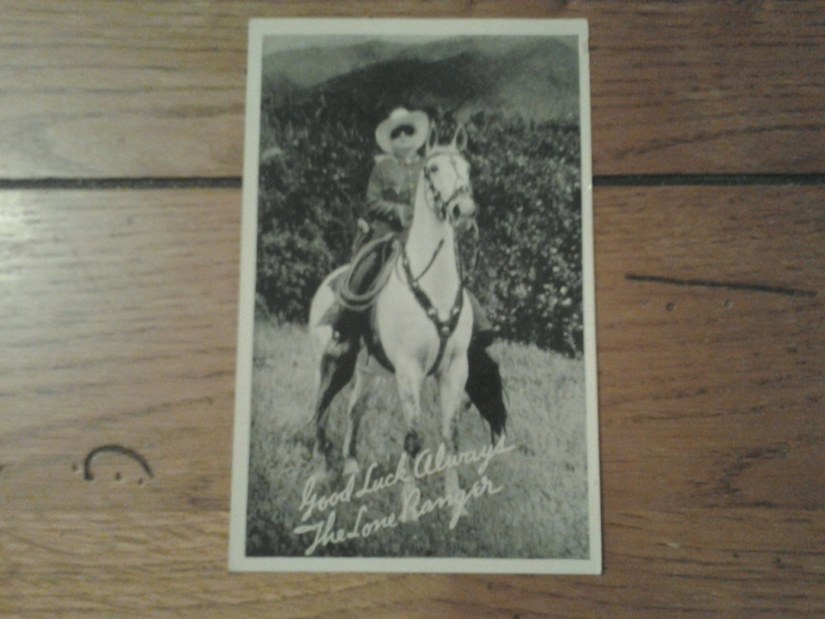 Lone Ranger Promo Postcard By Silvercup Bread Collectors
