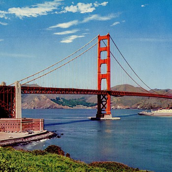 GOLDEN GATE BRIDGE - Postcards