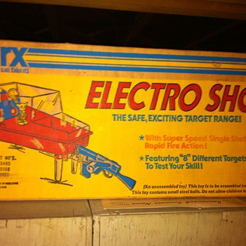 Marx Electro Shot Shooting Gallery