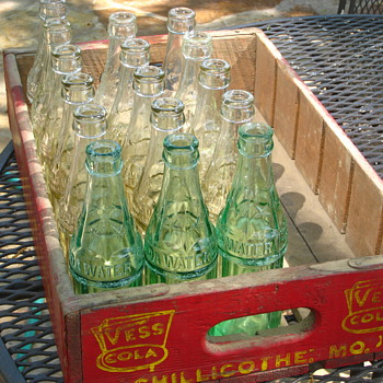 Vintage Missouri Coke Bottles